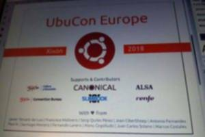 UbuCon Europe 2018. Cartel.